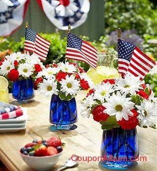 the american dream bouquet trio