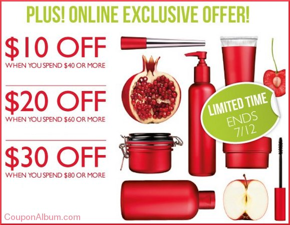 body shop online offer