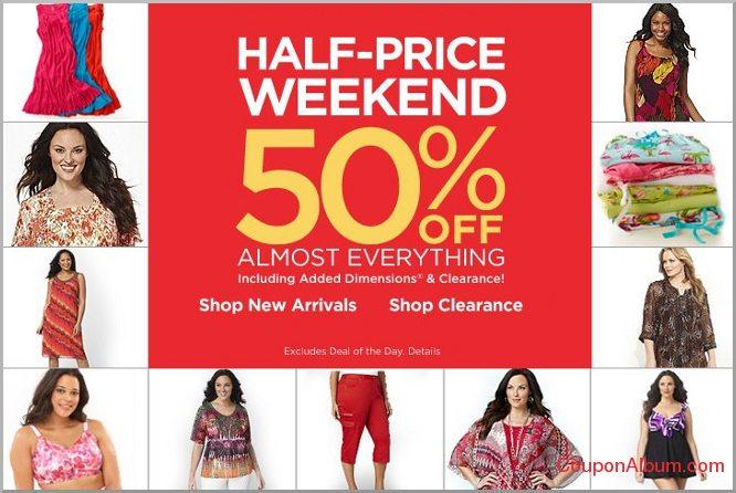 catherines half-price weekend