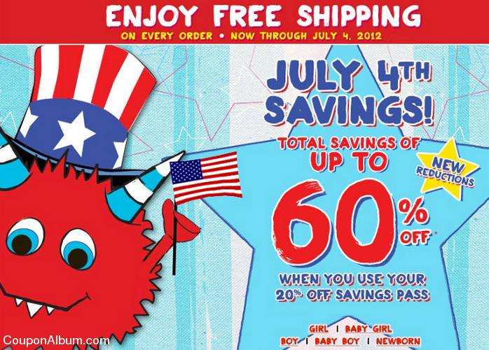 childrens place july 4th sale