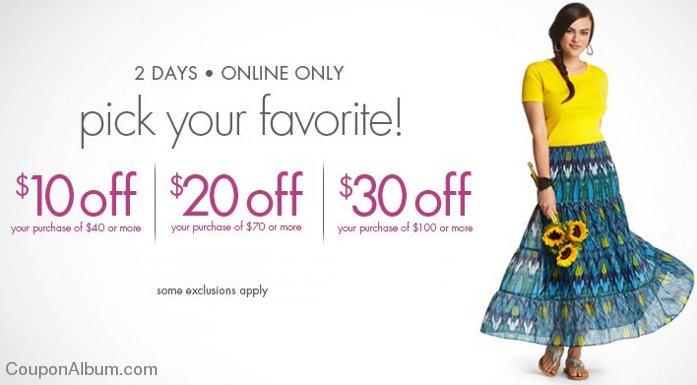 fashion bug bonus savings