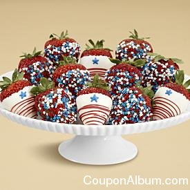 hand-dipped star spangled berries
