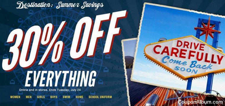 lands end summer savings
