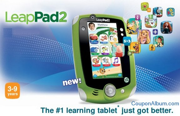 leapfrog leappad2 tablet