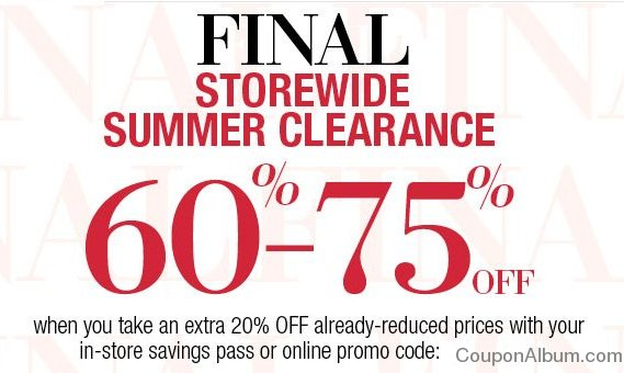 lord and taylor summer sale