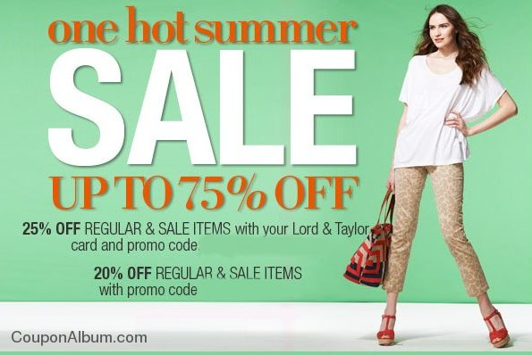 lord-taylor one hot summer sale