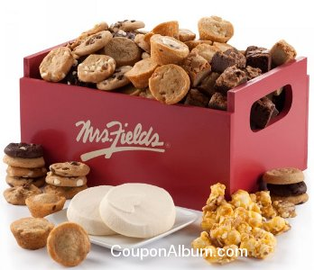 mrs. fields gift crates