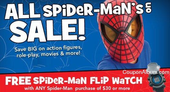 spider-mans merchandise