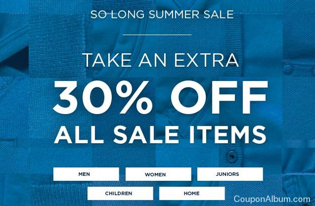 tommy hilfiger summer sale