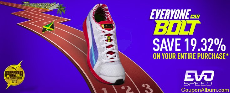 Puma shoes coupon