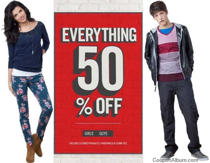 aeropostale back to school offer