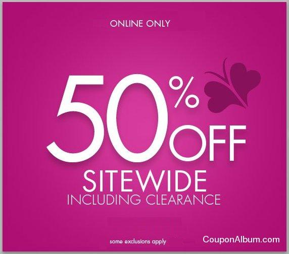fashion bug online coupon