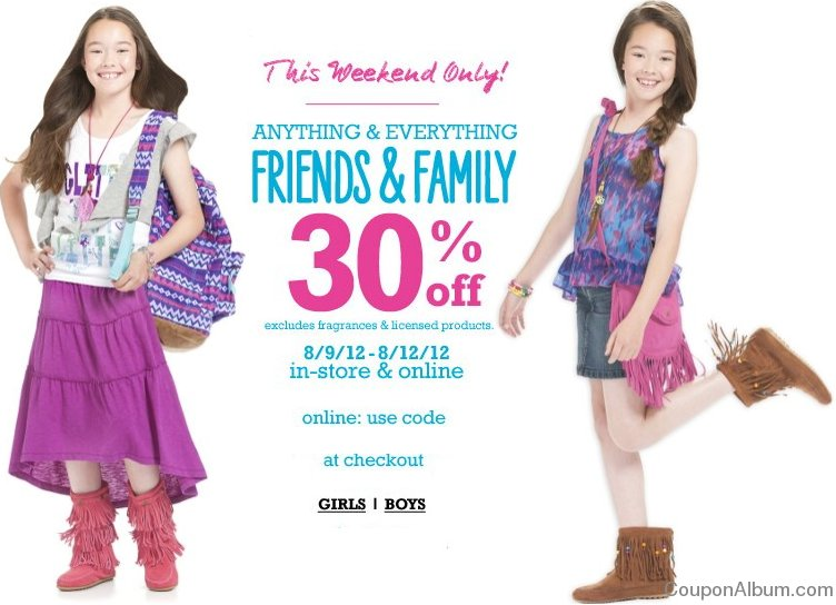 p.s from aeropostale friends-family