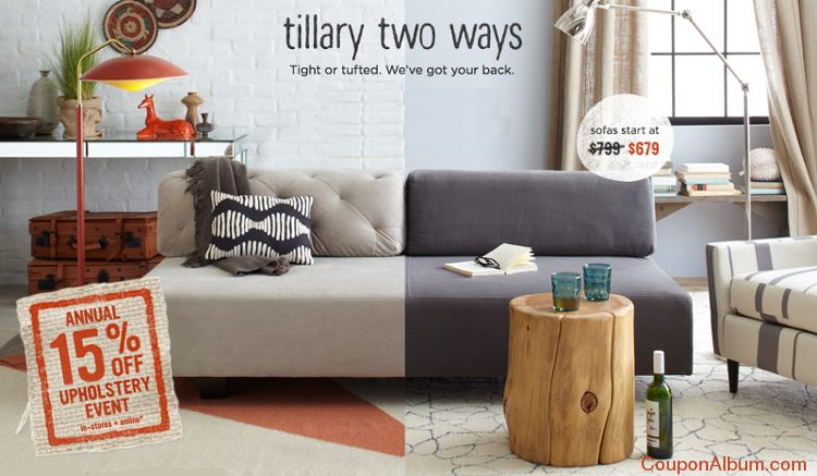 Tillary Tufted Sofa