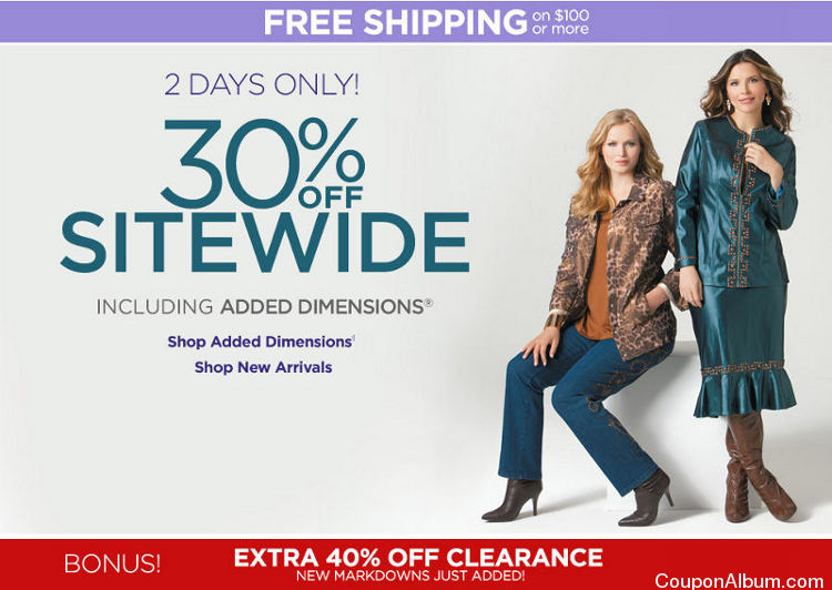 Catherines Sitewide Sale