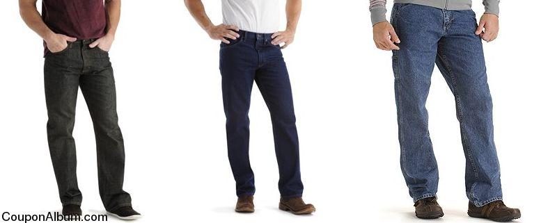 Lee jeans for men