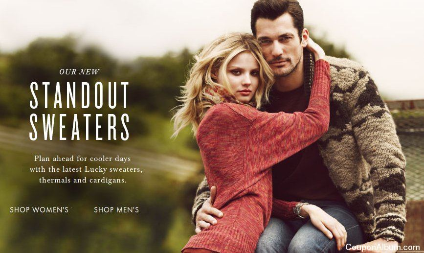 Lucky Brand sweaters
