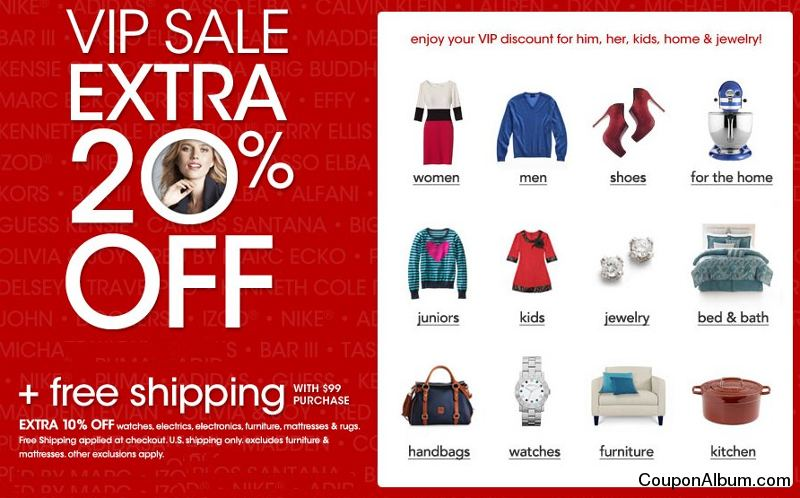 Macy's VIP Sale! | Online Shopping Blog