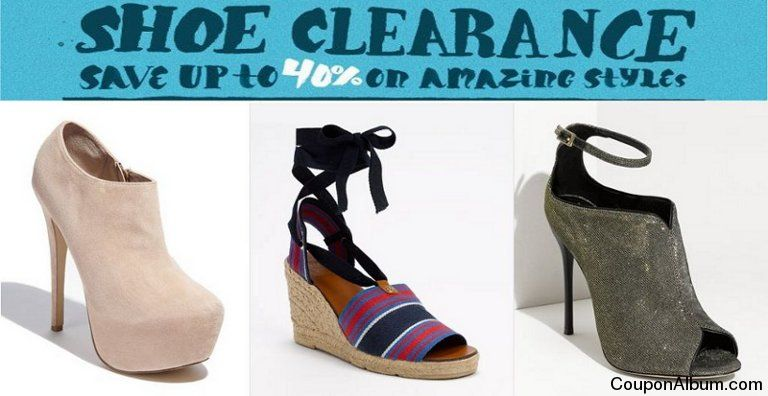 Nordstrom Shoe Clearance Event