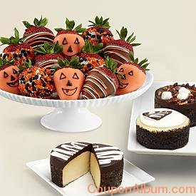 cheesecake trio-full dozen halloween berries