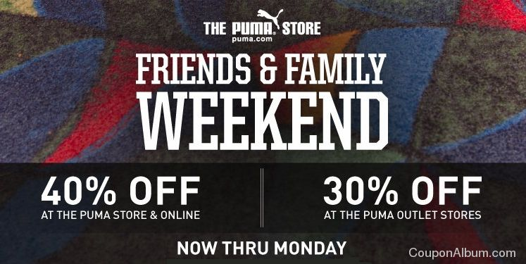 puma friends-family event