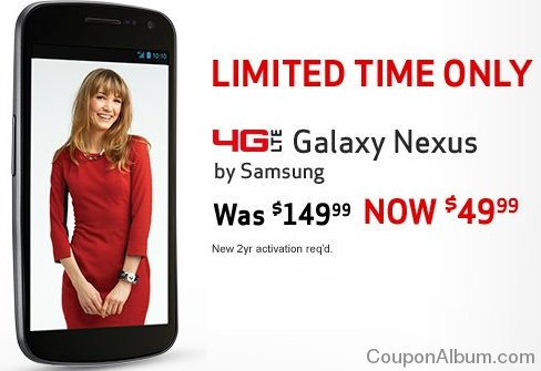 4g lte galaxy nexus by samsung