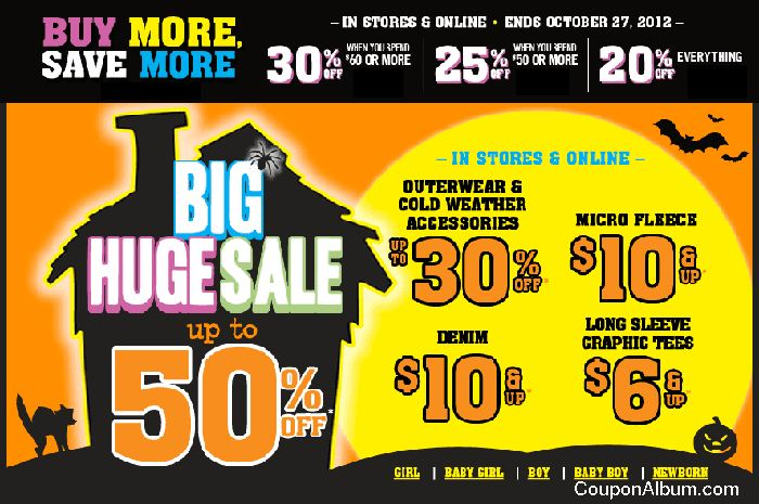 Childrens Place Buy More, Save More