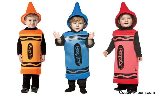 Crayola Halloween costumes