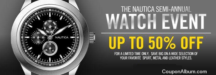 Nautica Semi-Annual Watch Event