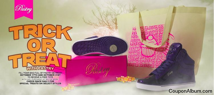 Trick Or Treat With Pastry Hot Coupon