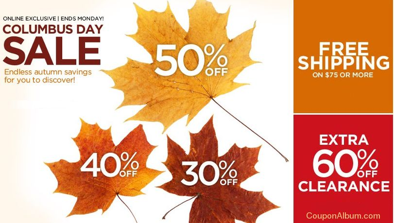 catherines columbus day sale