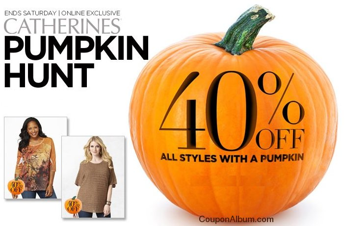 catherines halloween offer