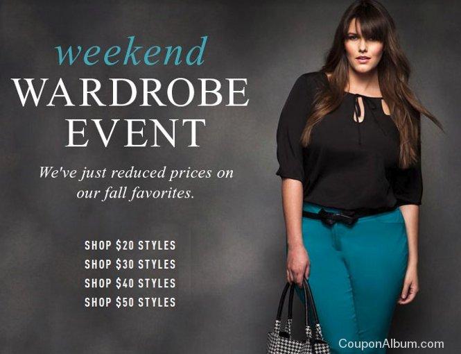 eloquii weekend wardrobe event
