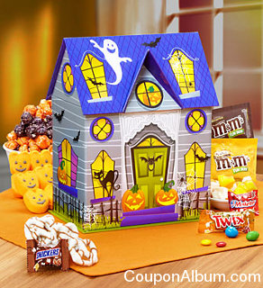 haunted house of howling good treats gift