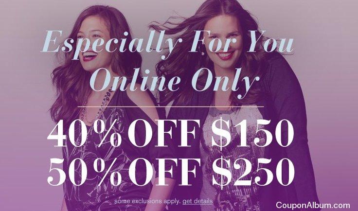 lane bryant online savings