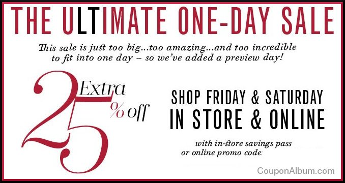 lord and taylor ultimate one day sale