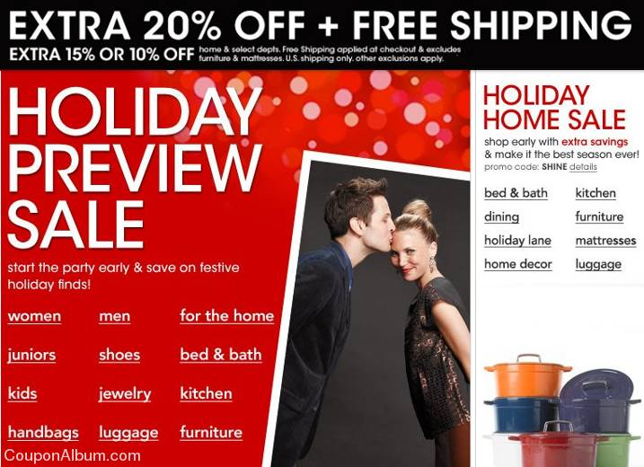 macys holiday preview sale