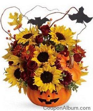 trick treat bouquet