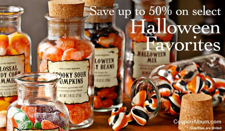 williams sonoma halloween special