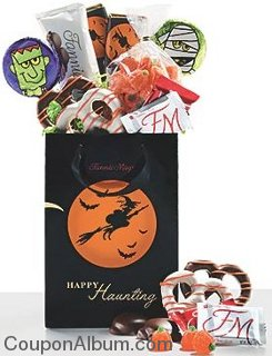 witch and moon treat bag