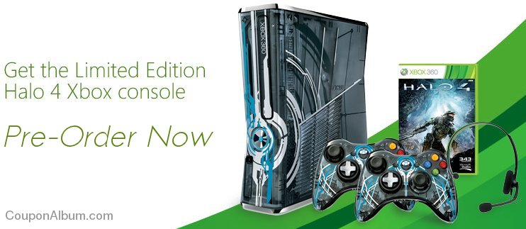 xbox 360 limited edition halo 4 console