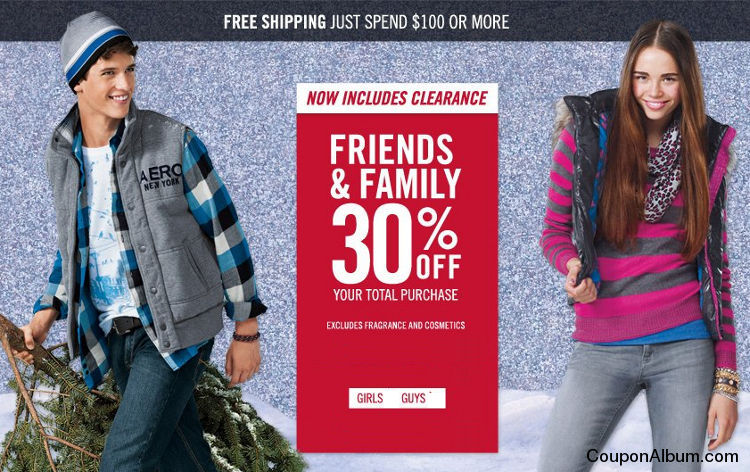 Aeropostale & P.S. from Aeropostale Friends & Family Event