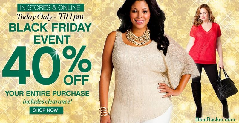 Ashley Stewart Black Friday Sale