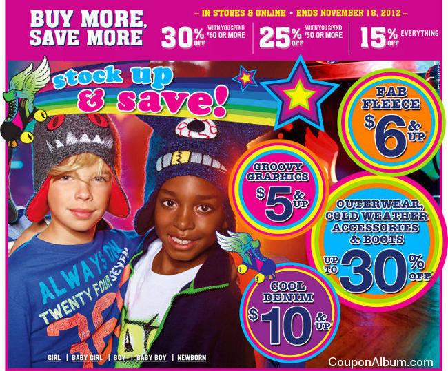 Children's Place Buy More Save More Event!