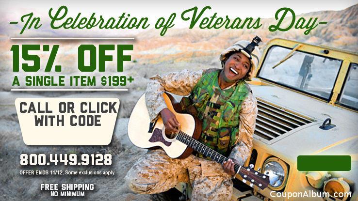 Musicians Friend Veterans Day Celebration