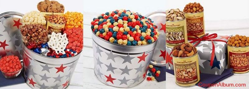 The Popcorn Factory Patriotic Gifts