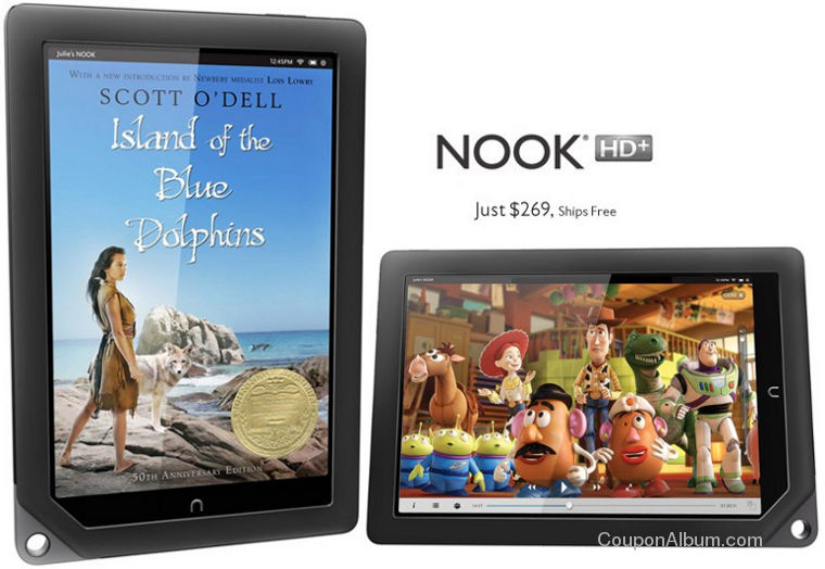 arnes and noble nook hd+