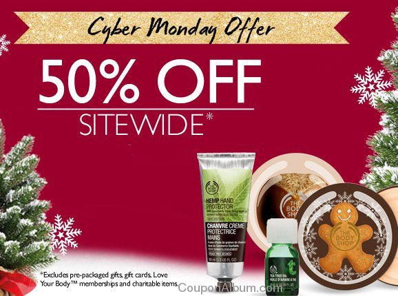 body shop cyber monday offer