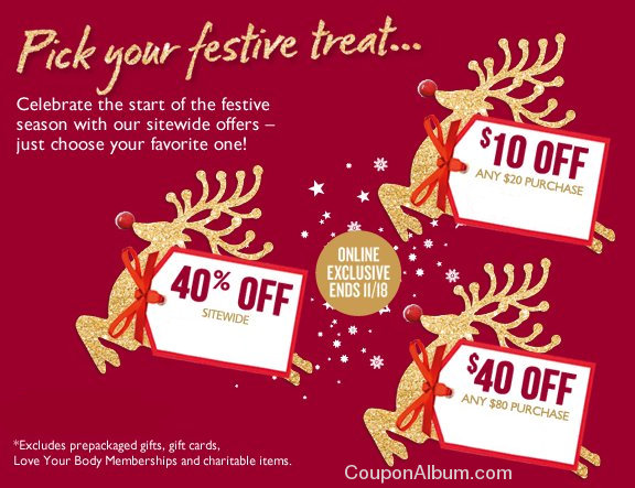 body shop festive treat