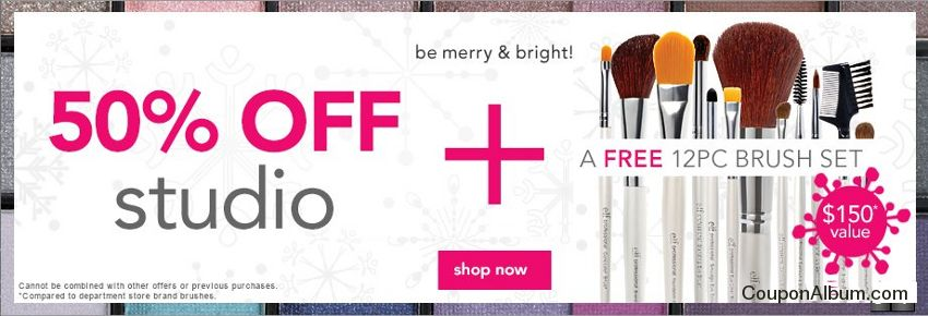elf cosmetics holiday savings